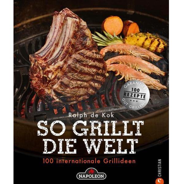 """Napoleon Grillbuch """"So grillt die Welt"""" SGW-BOOK-DE"""