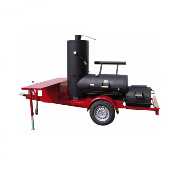 "JOE's BBQ Smoker 24"" Chuckwagon Catering Trailer"
