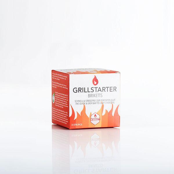 McBrikett GRILLSTARTER BRIKETTS 3er-Pack 22003