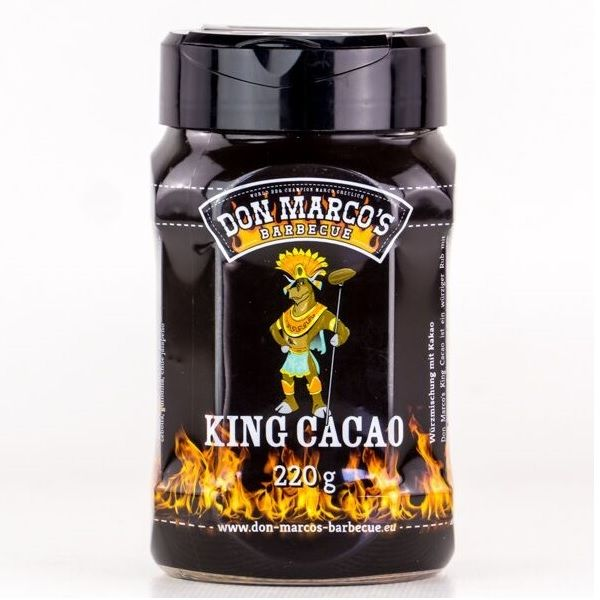 Don Marco's BBQ Rub King Cacao 220g Dose