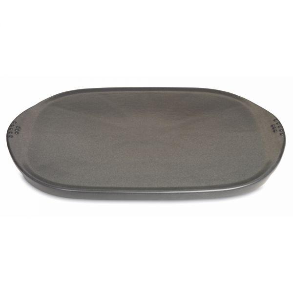 weber keramische grillplatte klein 6465 der grillstore. Black Bedroom Furniture Sets. Home Design Ideas