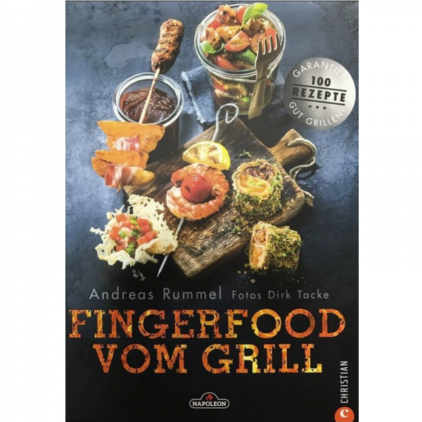 Napoleon Grillbuch Fingerfood vom Grill FVG-BOOK-DE