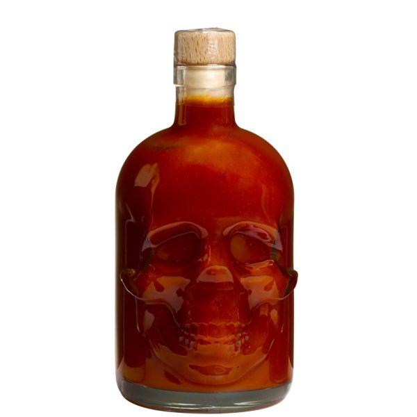 Saus.Guru Skull HOT Sauce - 142 Nonillion 200ml SkullFlasche Mini