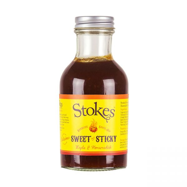Stokes BBQ Sauce Sweet & Sticky 250ml