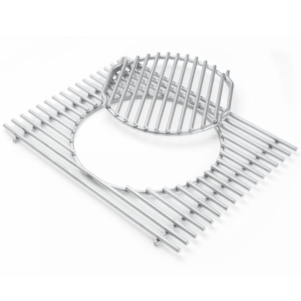 Weber Gourmet BBQ System - Grillrost mit Rosteinsatz für Summit 600 - Serie 7585