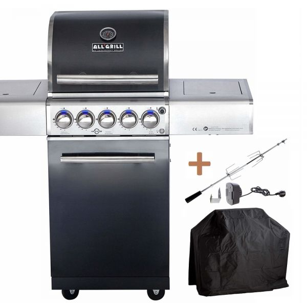 ALL'GRILL TOP-LINE CHEF S BLACK mit Airsystem 100702